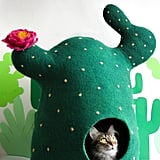 MeowFelt Cactus Cat Bed