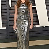 She Surprised Us at the Vanity Fair Oscars Party