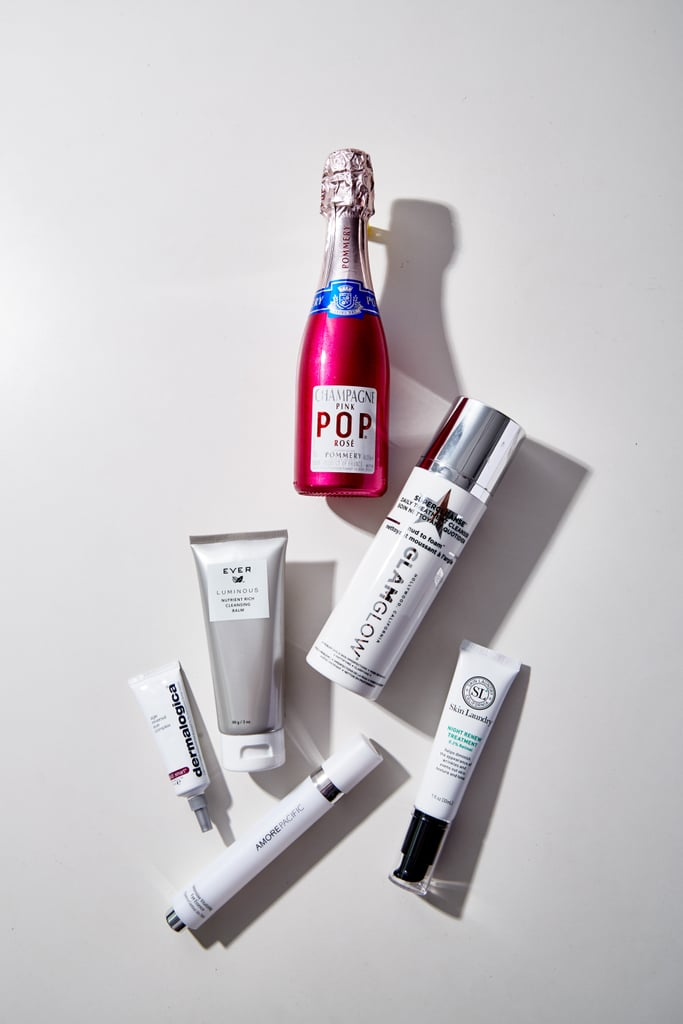 """Brightening products have ingredients that work to treat each condition. They work to block the production of pigment, or they help to increase cell turnover so that the darker-stained uppermost layers of the skin can exfoliate away, revealing lighter, healthier skin. """"Hydroquinone is a common one,"""" says Zararian. """"This ingredient is usually found in brightening creams and acts by bleaching the skin — or making it whiter. It's safer for lighter skin tones, while darker skinned people need to be cautious they don't lighten their normal skin accidentally (if they don't apply it only to the dark spots)."""" Vitamin C is an antioxidant that's safer to use because it works by decreasing pigment, and, Nazarian explains, """"In this way, Vitamin C would be considered more of a 'lightening' or 'fading' cream."""" Melanozyme and kojic acid are more recently used ingredients that have gained popularity because of their safety profile. They both help lighten sun spots and fade post-inflammatory stains without the risk of bleaching the skin, so they're considered safe even on darker skin tones. Once I fully understood exactly what dark spots were, and how brightening products help, I wondered what I should do next. In a market so massively oversaturated, how was I to pick a product that was right for me? Nazarian suggests, """" Elure Advanced Brightening Lotion ($125) is best for sunspots because it uses Melanozyme. I love Ambi Fade Cream ($7) (with hydroquinone) for old acne stains. Vitamin C is in SkinMedica Vitamin C + E Complex ($90), which allows for overall cell turnover."""" Though it is doable to buy a product and brighten hyperpigmentation, that's not the first step you should take in protecting yourself. Bowe offers, """"Anyone with uneven tone or brown spots can benefit, but it's essential to use sun protective measures as well. You can undo the damage with these creams but then you are fighting an uphill battle if you don't protection your skin from whatever is triggering the pigment"""