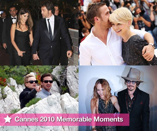 Pictures of Cannes Film Festival 2010 Most Memorable Moments Including Carey and Shia, Johnny and Vanessa, Michelle and Ryan