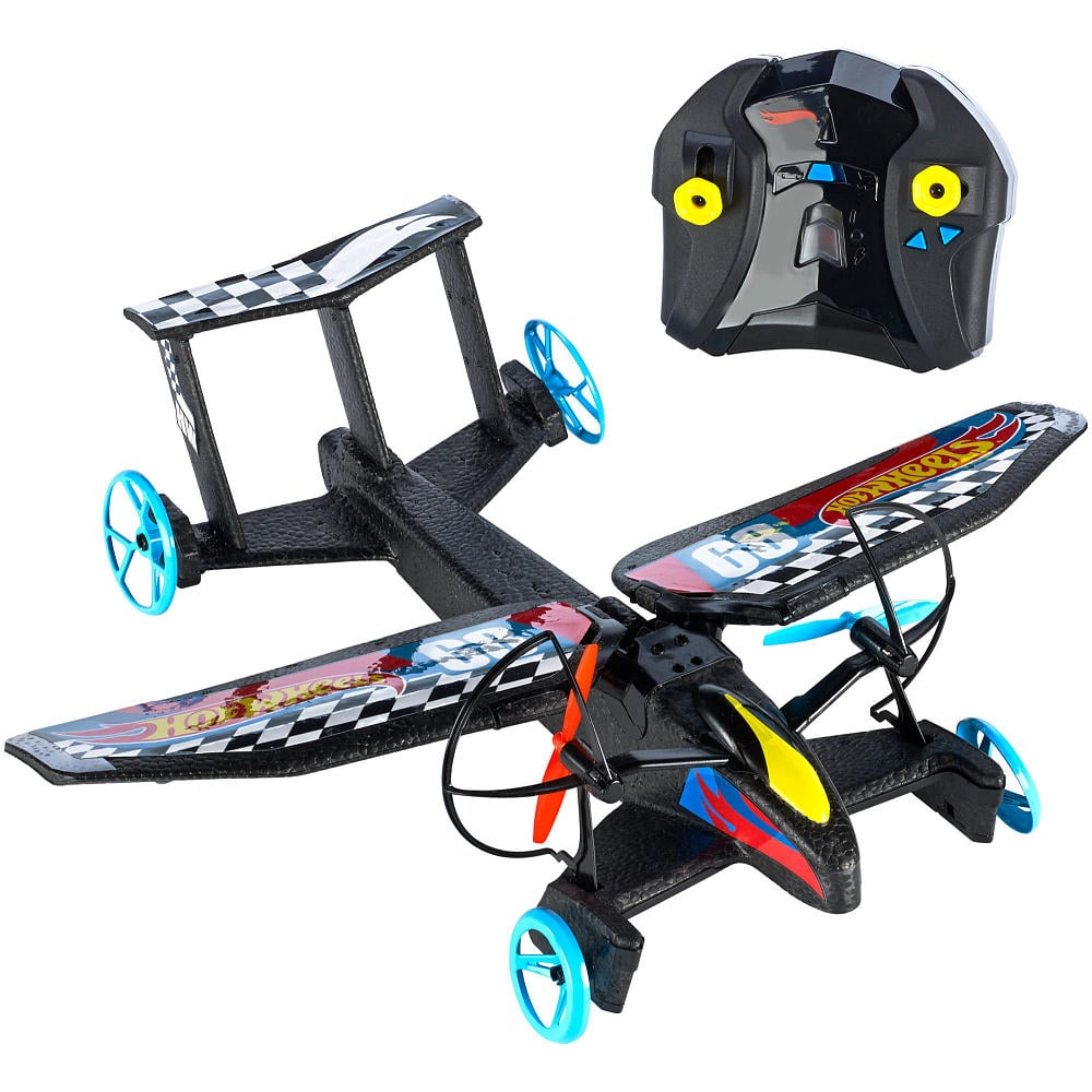 For 6-Year-Olds: Hot Wheels RC Sky Shock Transforming Remote Control Vehicle