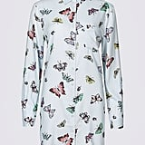 Marks and Spencer Butterfly Print Shirt