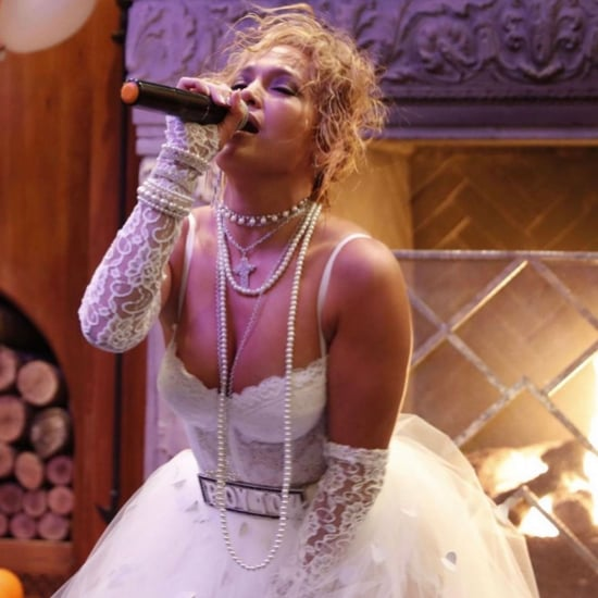 "Jennifer Lopez Re-Creates Madonna's ""Like a Virgin"" Costume"