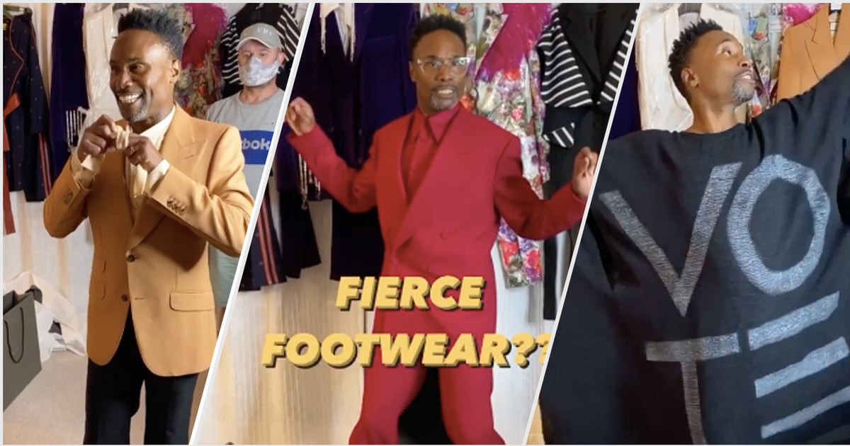 We're Already Giddy For the Emmys After Getting a Glimpse of Billy Porter's Outfit Options