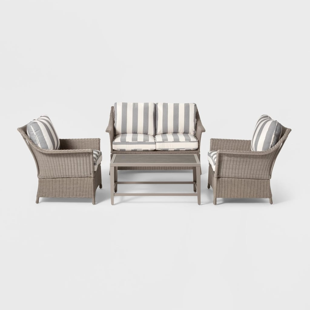 Foxborough 4-Piece Patio Conversation Set