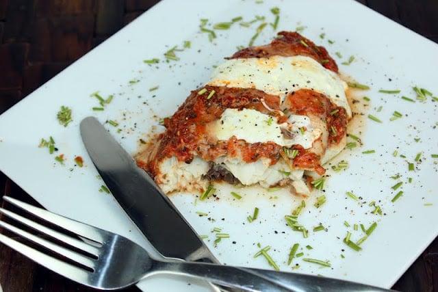 Fish Parmigiana