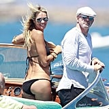 Elle Macpherson Gets Sexy in String Bikinis With Her Boyfriend