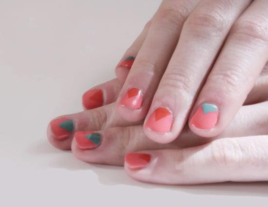 Reverse French Manicure Nail Art Idea Popsugar Beauty
