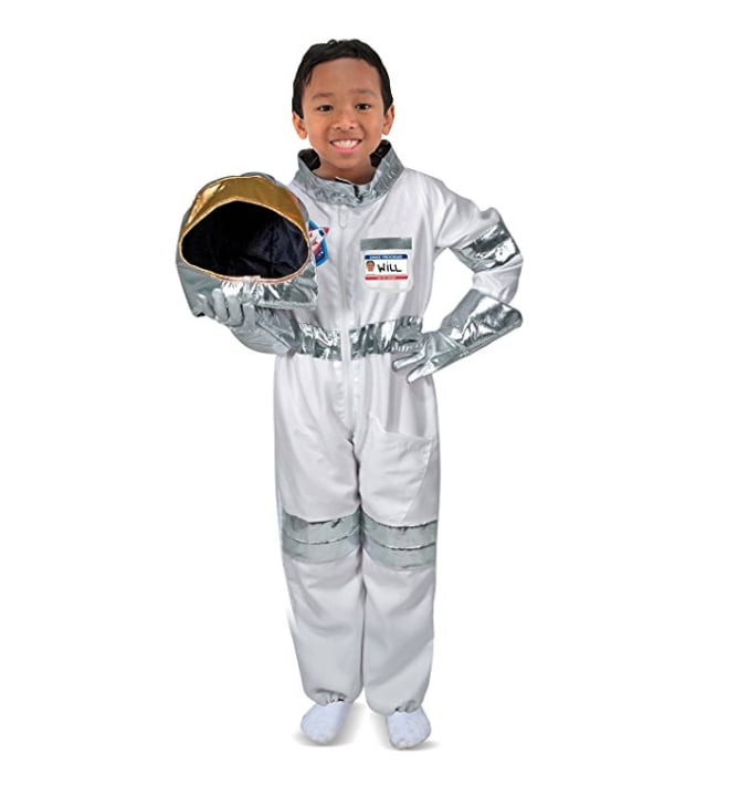 For 3-Year-Olds: Melissa & Doug Children's Astronaut Role Play Set Costume for Kids