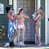 LeAnn Rimes Shows Off Her Bikini Body and Maternal Instinct