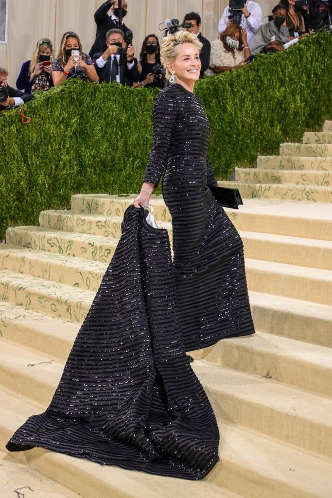 Sharon Stone at the 2021 Met Gala