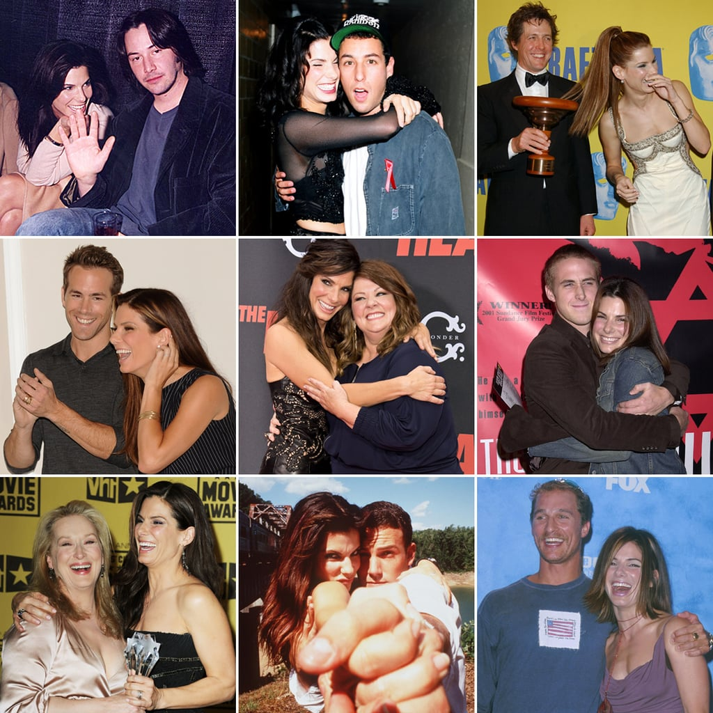 Sandra Bullock's Happiest Pictures And Celebrity Friends