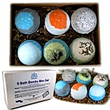 Organic Bath Bombs Gift Set For Men