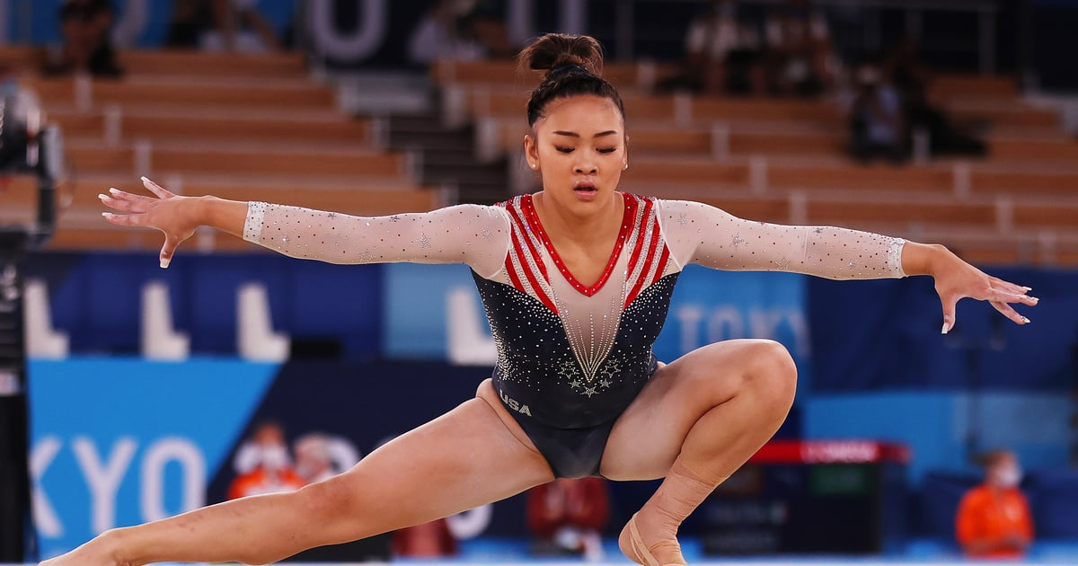Gymnast Sunisa Lee Didn't Just Take Home the Olympics Gold Medal —She Did It With Acrylics.jpg