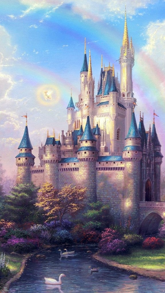 Disney iphone wallpapers popsugar tech 33 magical disney wallpapers for your phone voltagebd Images