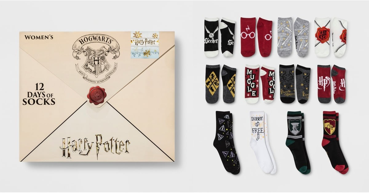 Harry Potter Advent Calendar.Target S Sock Filled Harry Potter Advent Calendars Are Back And Yep