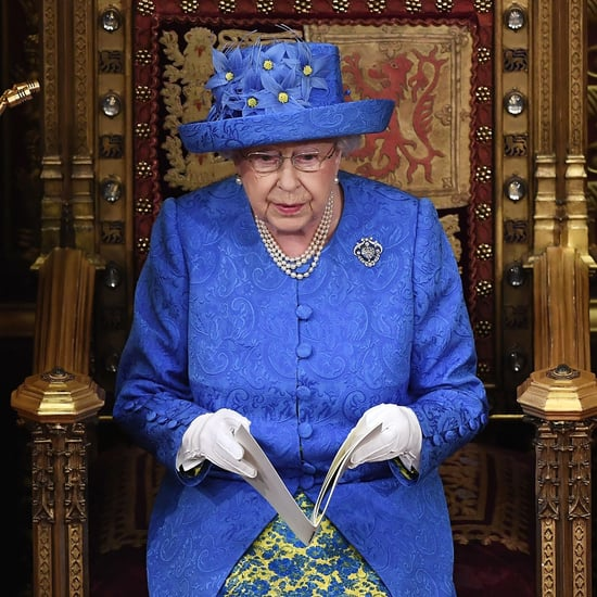 Queen Elizabeth II's EU Flag Hat