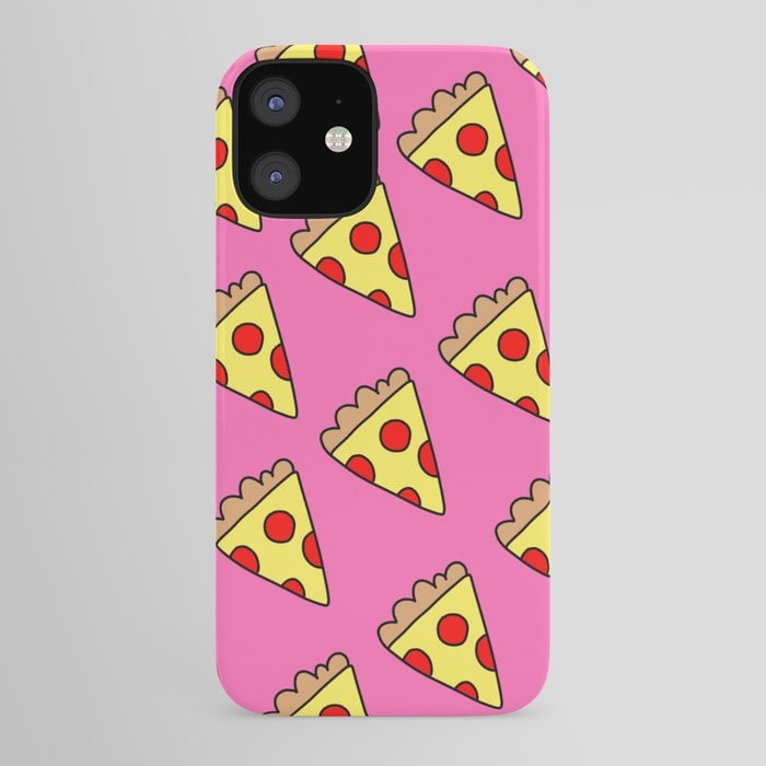 Pizzzzzzzaa iPhone Case by Butlikemaybe