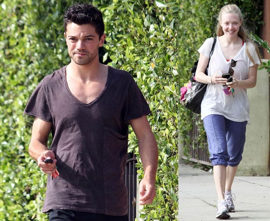 Pictures of Dominic Cooper and Amanda Seyfried Leaving a Hollywood Gym