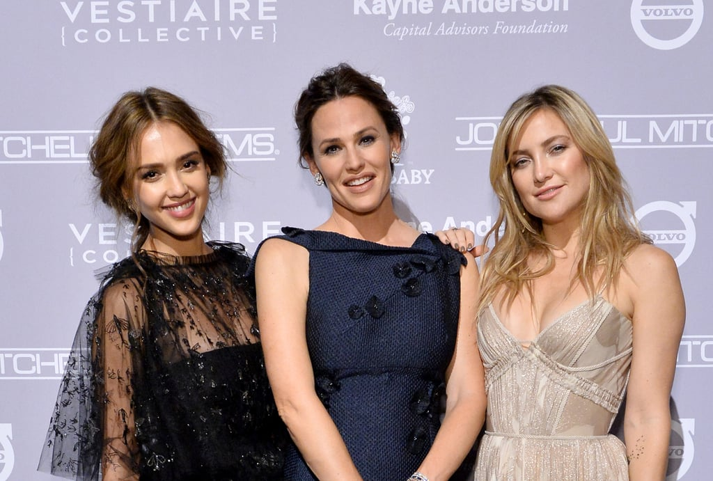 Pictured: Jessica Alba, Kate Hudson, and Jennifer Garner