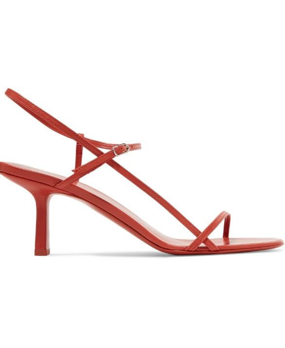 The Row Bare Leather Sandals ($1,024.23)