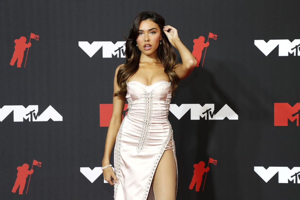 Madison Beer Pays Tribute to Beyoncé With Vintage VMAs Dress
