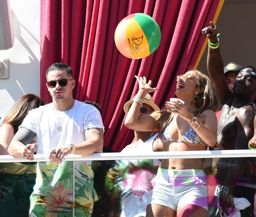 Jennifer Lopez in Bikini in Las Vegas May 2016