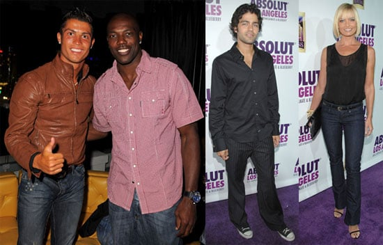Photos of Adrian Grenier, Cristiano Ronaldo and Jaime Pressly At ABSOLUT Party in LA
