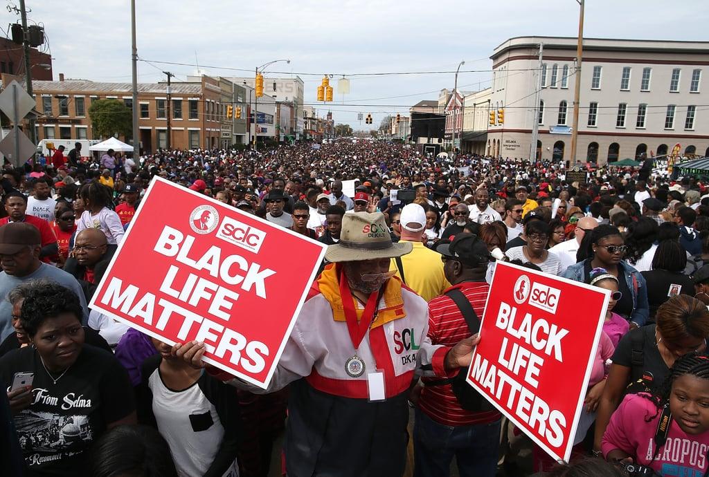 Marina Auto Body >> 50th-Anniversary March in Selma | Pictures | POPSUGAR Celebrity