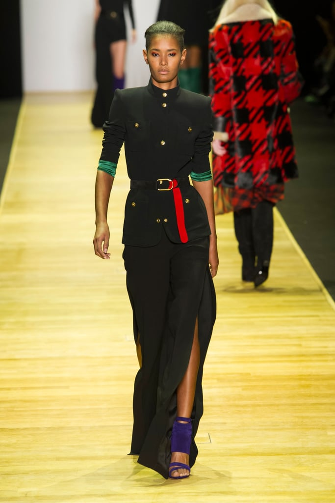 012c82d1dcf Use Your Accessories to Add Brilliant Pops of Color to an All-Black Outfit