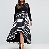 Coast Striped Maxi Skirt