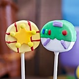 Woody and Buzz Cake Pops