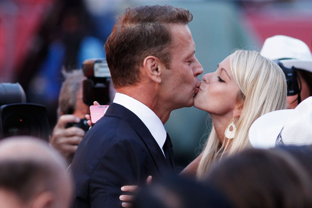 rocco siffredi is at it again as he kisses a woman at the tinker venice film festival couple. Black Bedroom Furniture Sets. Home Design Ideas