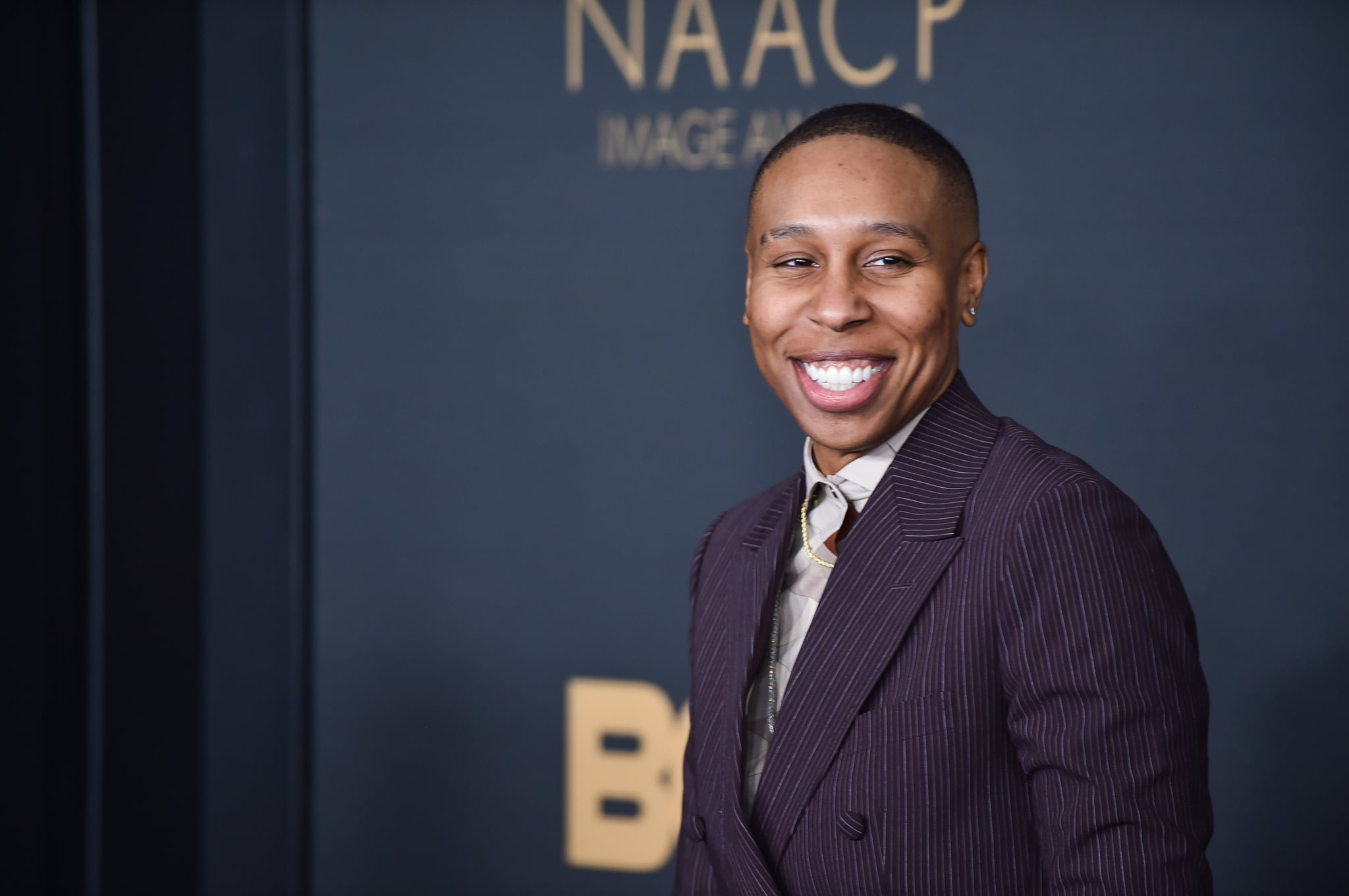 Lena Waithe attends the 51st NAACP Image Awards at the Pasadena Civic Auditorium on February 22, 2020 in Pasadena, California. (Photo by Aaron J. Thornton/FilmMagic)