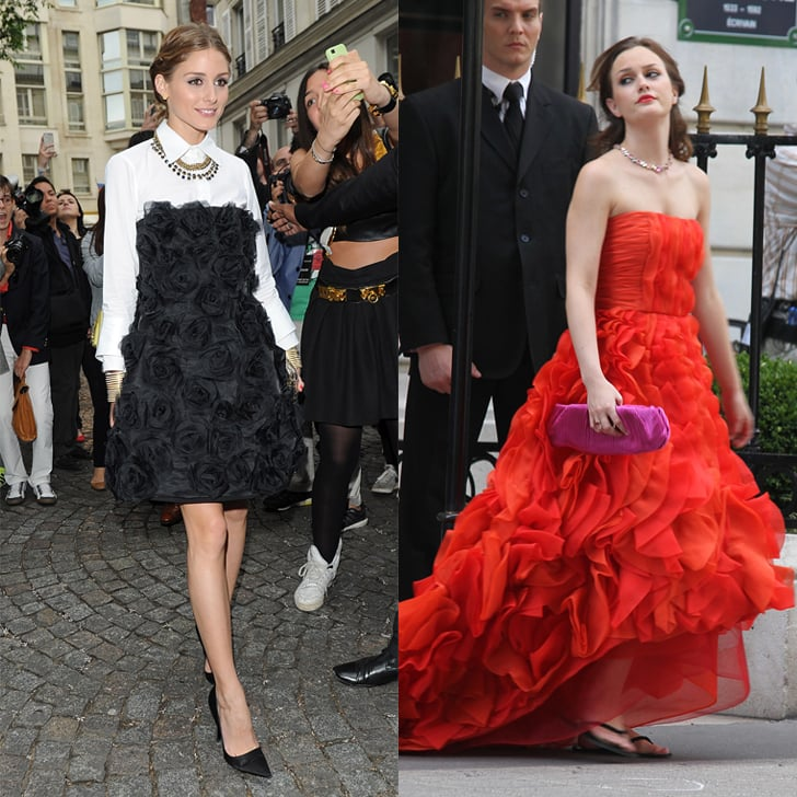 Olivia Palermo Dressing Like Blair Waldorf | POPSUGAR Fashion