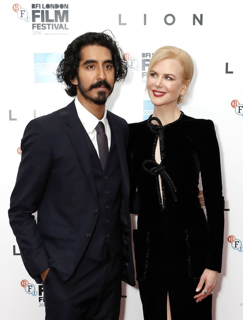 In the Golden Globe- and SAG Award-nominated film Lion, Nicole Kidman plays the role of Dev Patel's adoptive mother, and we're pretty sure she's taken method acting to the next level with this one. While promoting the film this year, the Australian star has lovingly looked at Dev like your mother looks at you on graduation day, and it's melted our hearts to goop. Read on to see all the times Nicole doted on Dev like a son, then remember why 2016 was the year you fancied him most.