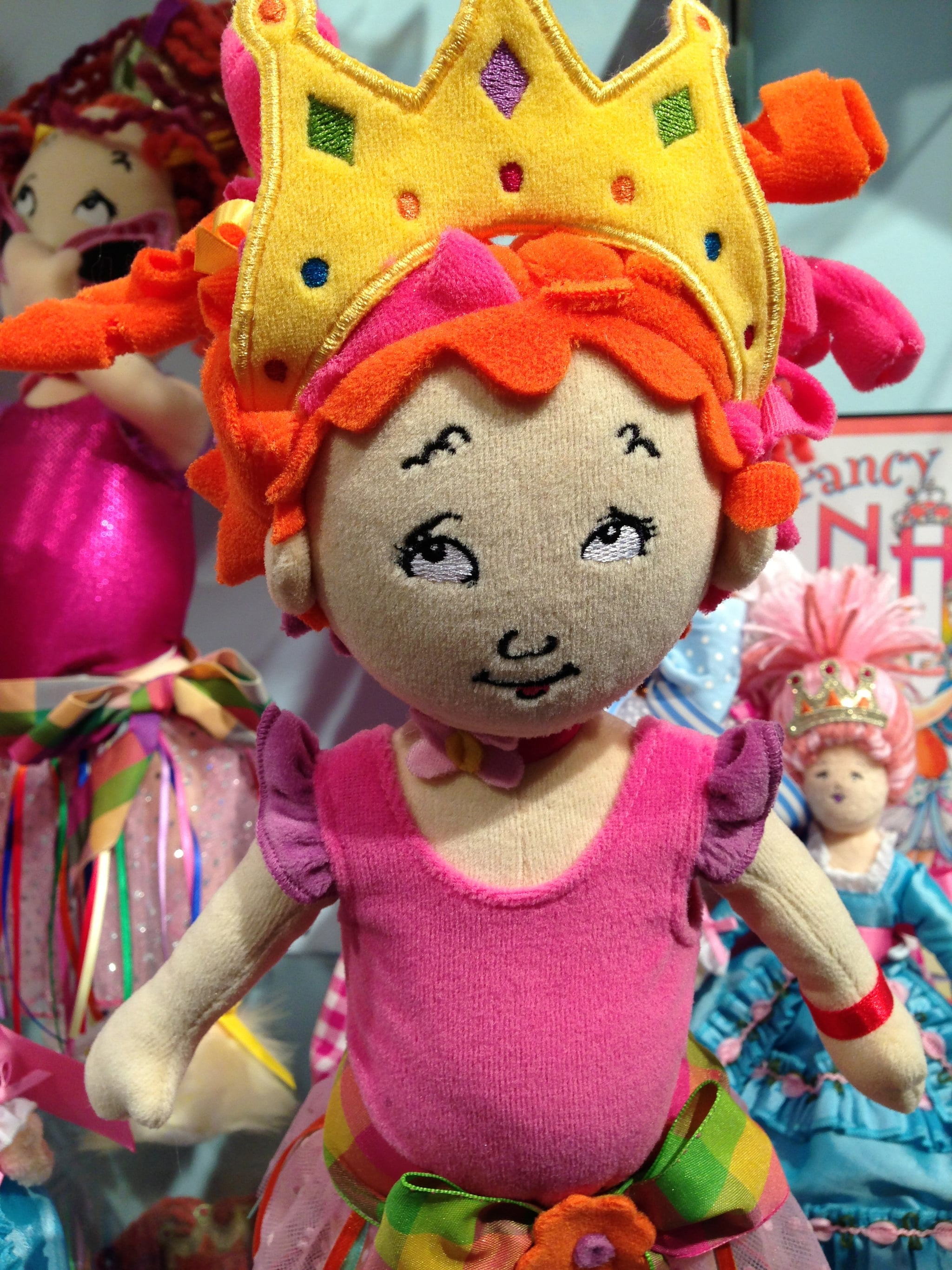 Fancy Nancy was brought to life at Madame Alexander!
