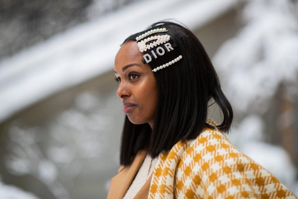 53aa428c2 Trend: Hair Accessories | Street Style Trends 2019 | POPSUGAR ...