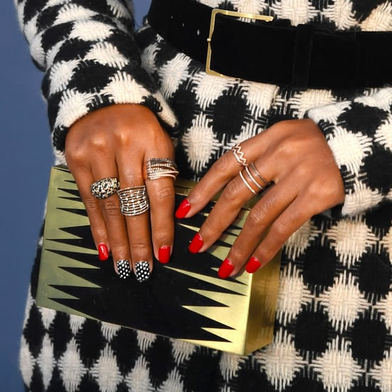 Celebrity Nails From Award Show Red Carpets 2017