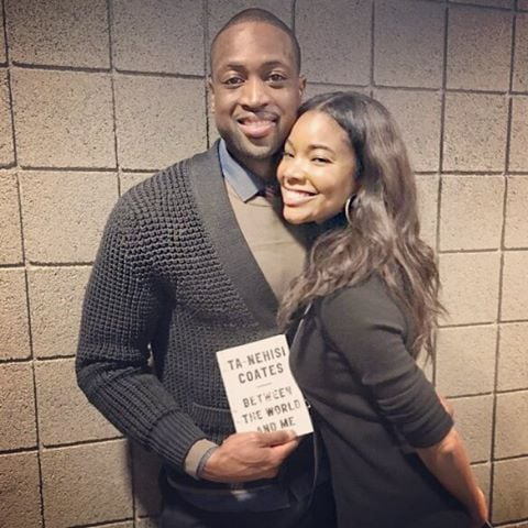 Gabrielle and Dwyane snapped this post-game pic in January 2016.