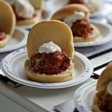 Meatball Sandwiches