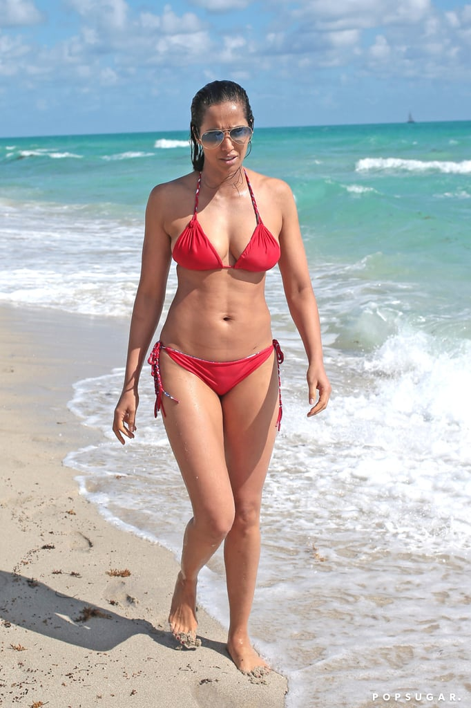 Padma Lakshmi 47 Celebrities Over 40 Wearing Bikinis