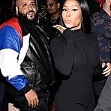 Pictured: Nicki Minaj and DJ Khaled