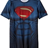 Superman Suit Short Sleeve Pullover