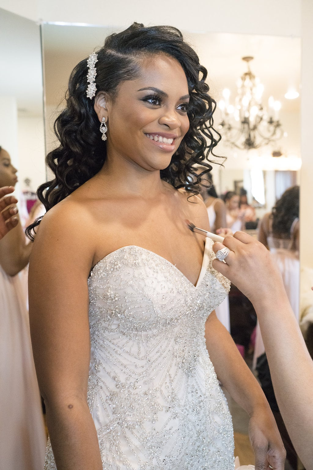 Bridal Hairstyle Inspiration For Black Women Popsugar Beauty