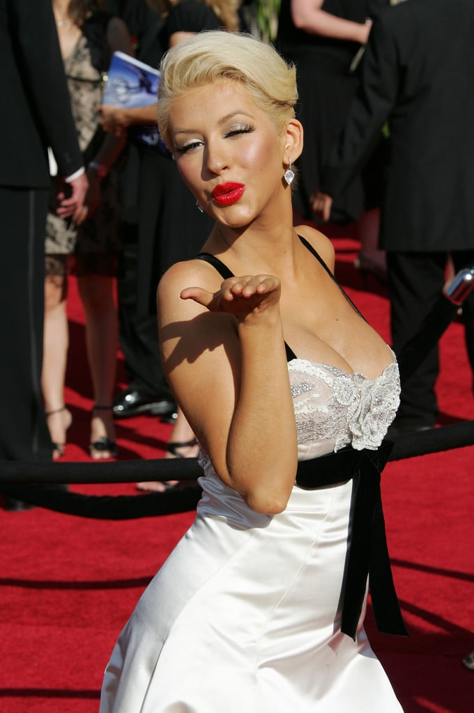 Christina Aguilera at the 2007 Emmy Awards