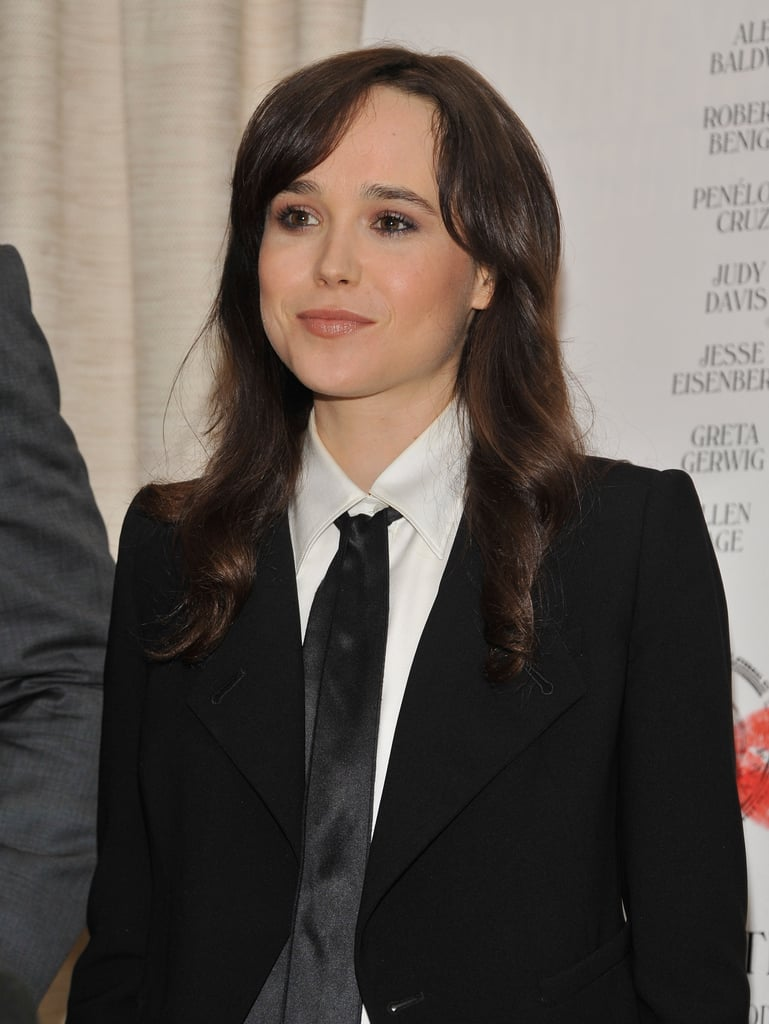 Ellen Page attended a To Rome With Love press event in NYC.