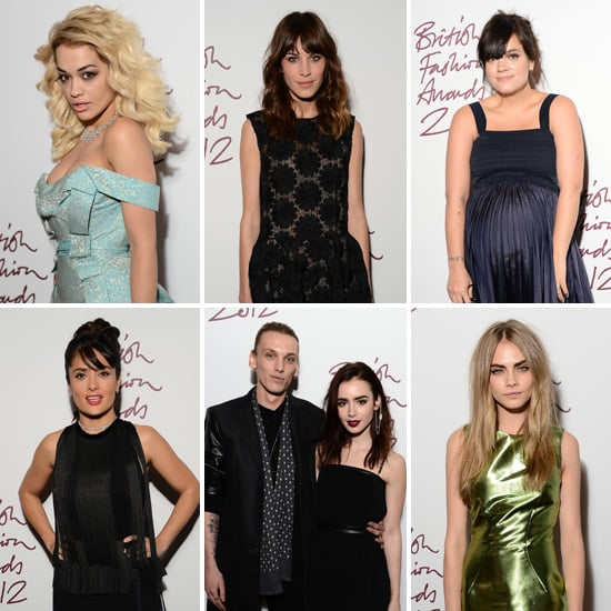 UK Style Stars Bring Their Red Carpet A-Game to the British Fashion Awards