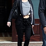 Jennifer Lawrence Bares Her Toned Tummy During a Casual NYC Outing