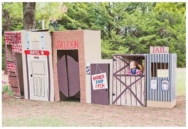 Cardboard Box Saloon